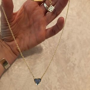 Kendra Scott Perry Triangle Necklace